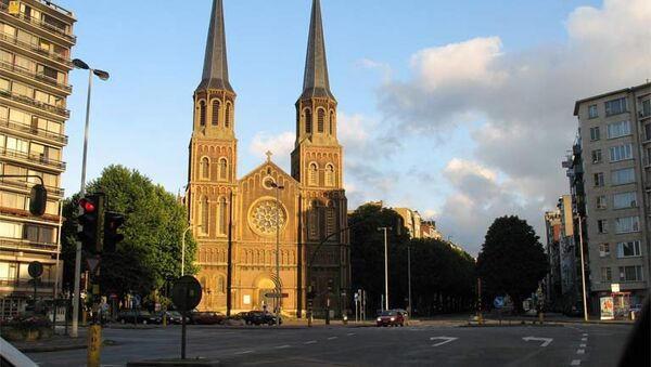Православный храм в честь Рождества Христова в Антверпене