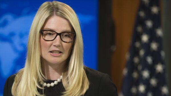 Представитель госдепартамента США Мари Харф. Архивное фото