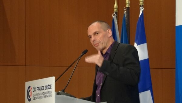 Министр финансов Греции Янис Варуфакис, Архивное фото