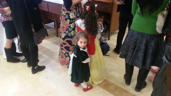 Открытие празднования Пурима в Московском еврейском общинном центре
