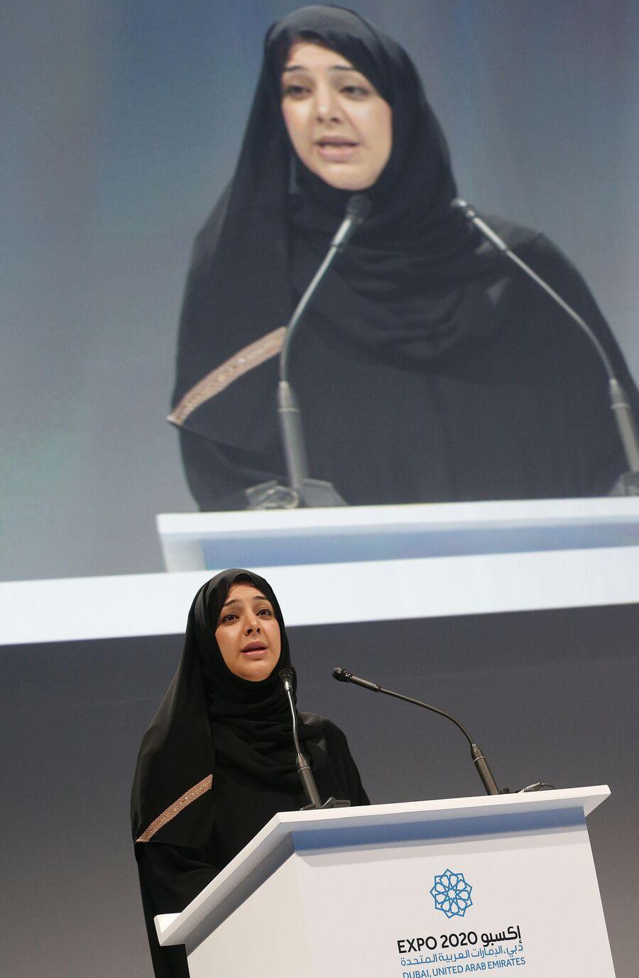 Государственный министр ОАЭ Рим аль-Хашеми