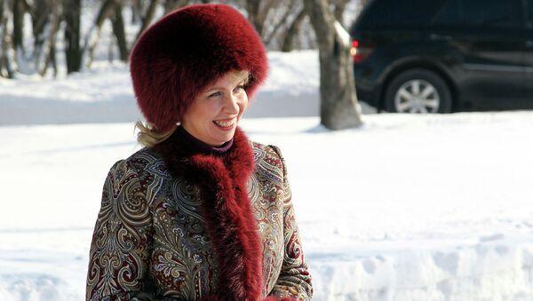 Светлана Медведева в Коломенском музее