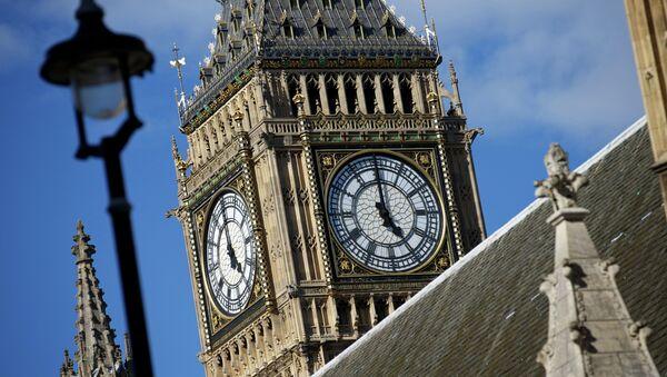 Крыша Вестминстерского дворца в Лондоне. Архивное фото