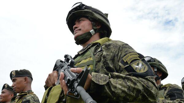 Филиппинские военнослужащие. Архивное фото