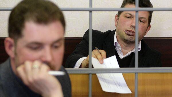 Генеральный директор УК АС Менеджмент Роберт Хайруллин в Советском районом суде города Казани. Архивное фото