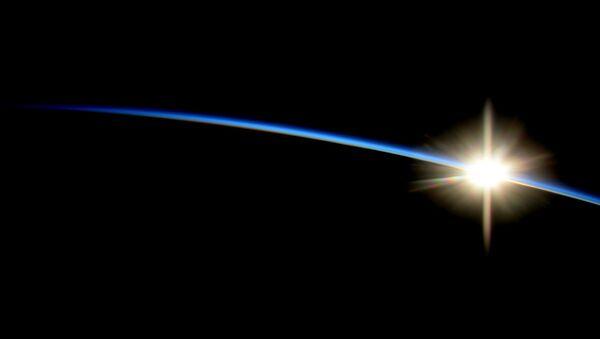 Восход с Международной космической станции