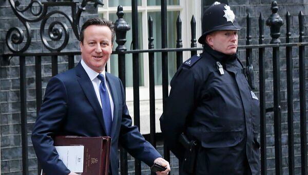 Премьер-министр Великобритании Дэвид Камерон