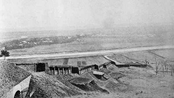 Форт Перемышля в годы первой мировой войны. Архивное фото