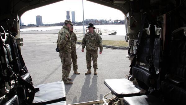 Армия США в Латвии. Архивное фото