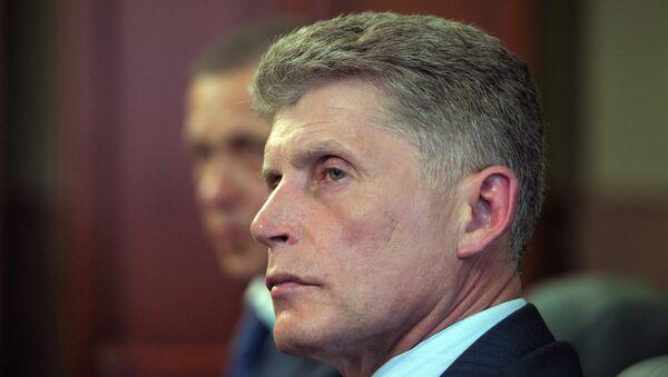 И. о. губернатора Сахалина Олег Кожемяко. Архив