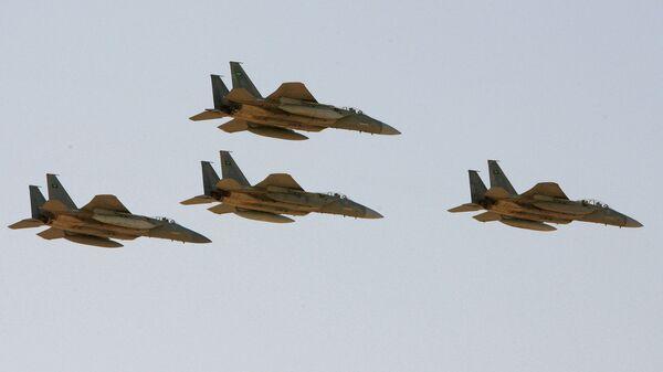 Истребители F-15 ВВС Саудовской Аравии
