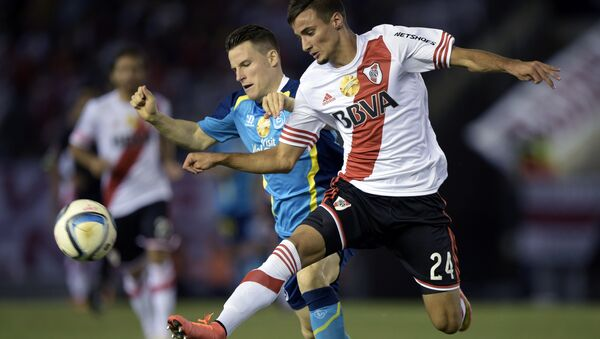 Матч Евроамериканского суперкубка Севилья - Ривер Плейт, 26 марта 2015