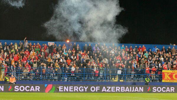 Футбол. Отборочный турнир ЧЕ-2016. Матч Черногория - Россия