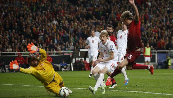 Отбор Евро-2016, матч Португалия - Сербия