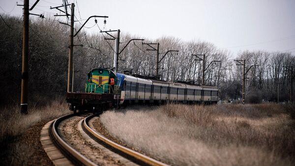 Железная дорога в ДНР. Архивное фото