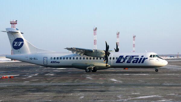 Самолет ATR 72 авикомпании ЮТэйр. Архивное фото