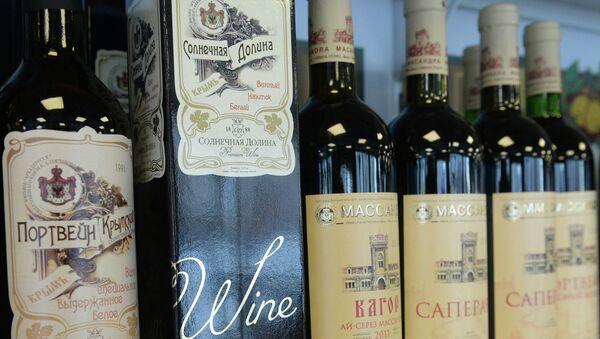Крымское вино. Архивное фото