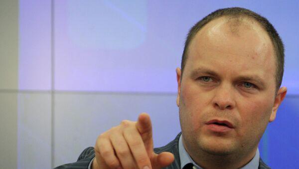 Председатель комиссии по безопасности Общественной палаты РФ Антон Цветков. Архивное фото