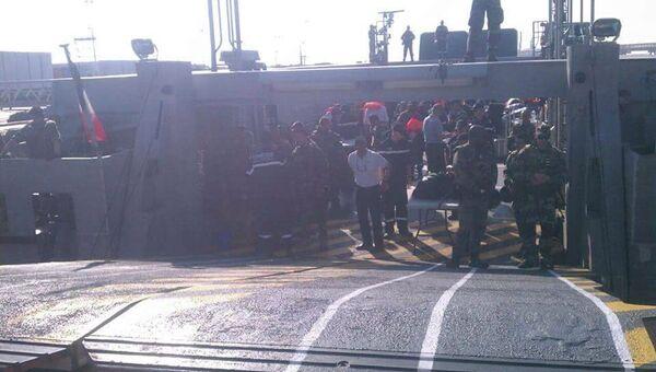Эвакуация инженеров французской компании Total из Йемена