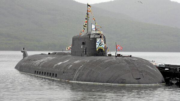 Атомная подводная лодка проекта 949А Антей. Архивное фото