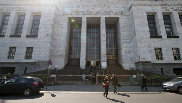 Дворец юстиции в Милане, Италия