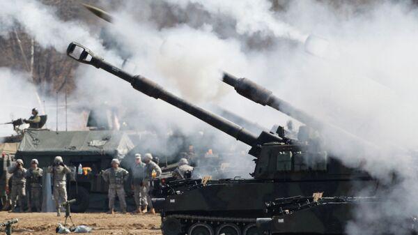 Самоходные 155-миллиметровые гаубицы Вооруженных сил США Paladin M109A6