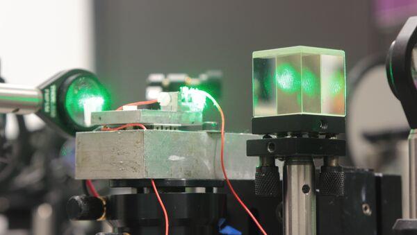 Лазерная система. Архивное фото