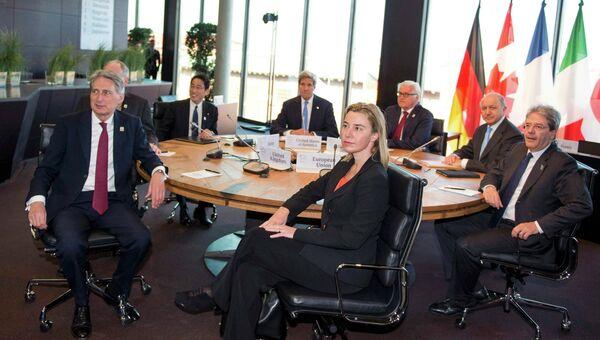 Встреча глав МИД G7 в Любеке, Германия. День второй. Архивное фото