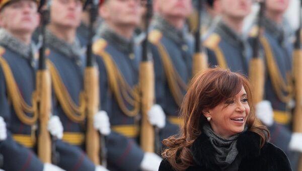 Президент Аргентинской Республики Аргентины Кристина Фернандес де Киршнер