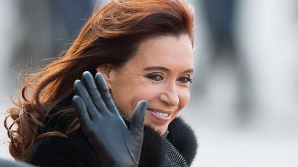 Экс-президент Аргентинской Республики Кристина Киршнер