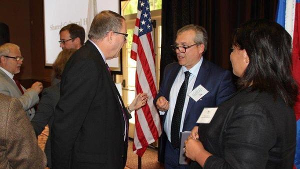 Торгпред РФ в США Александр Стадник на встрече с представителями американских ассоциаций BIO, PhRMA, InPharama