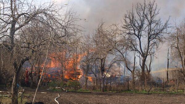 Ликвидация последствий взрыва склада пиротехнических изделий в Орле