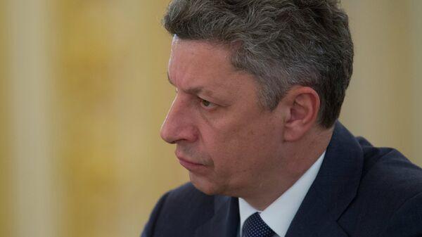 Лидер парламентской фракции Оппозиционный блок Юрий Бойко