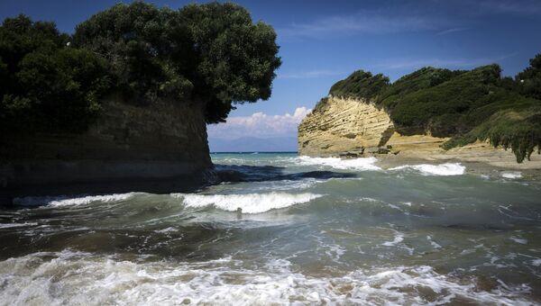 Зарубежные страны. Греция. Остров Корфу. Архивное фото