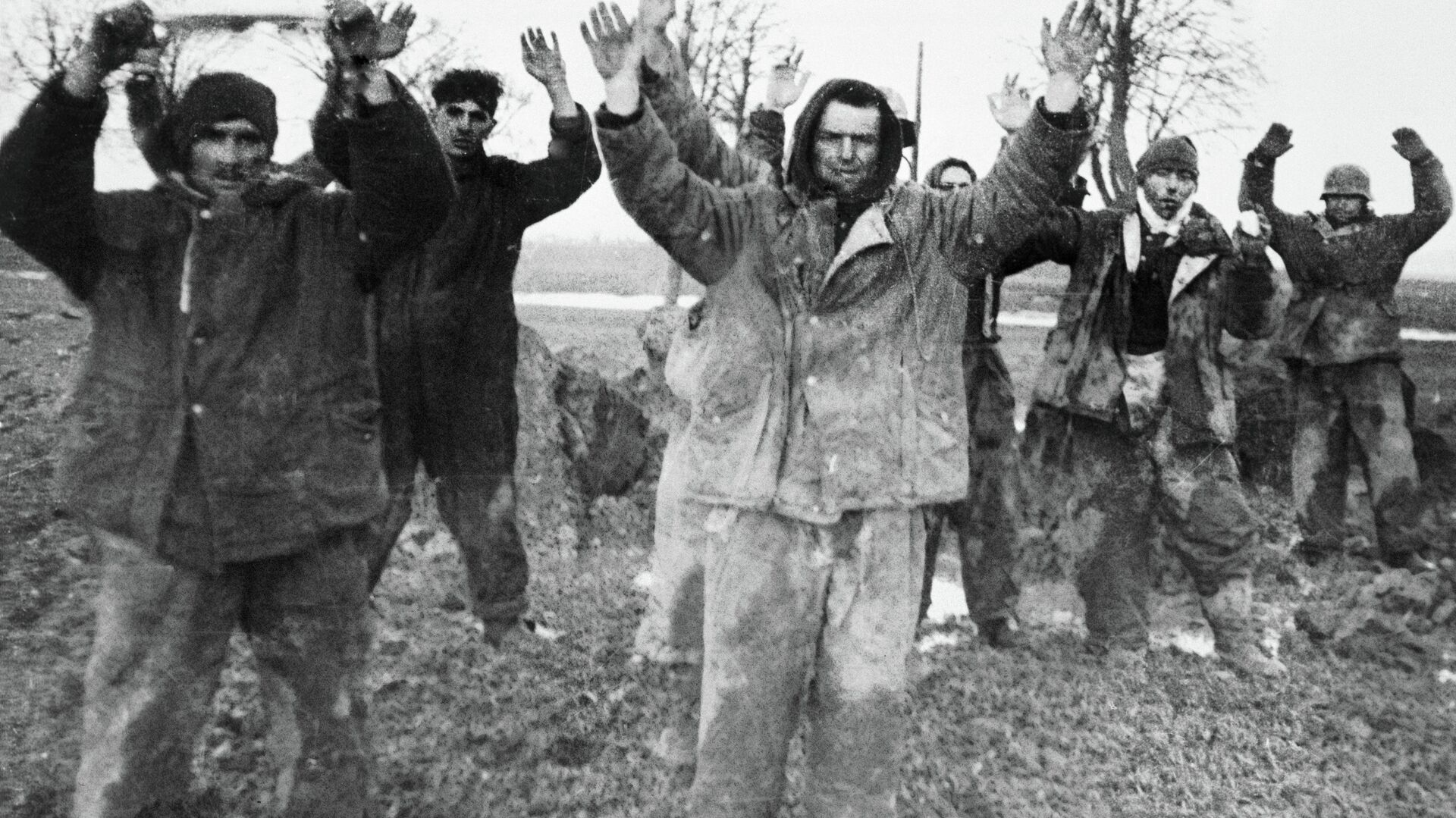 Немецкие солдаты сдаются в плен - РИА Новости, 1920, 25.01.2021