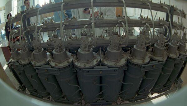 Установка газовых центрифуг