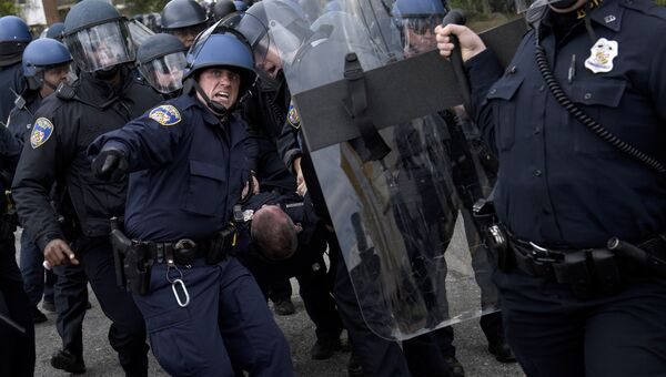 Полиция в Балтиморе