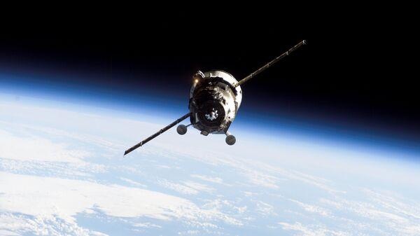 Грузовой космический корабль. Архивное фото