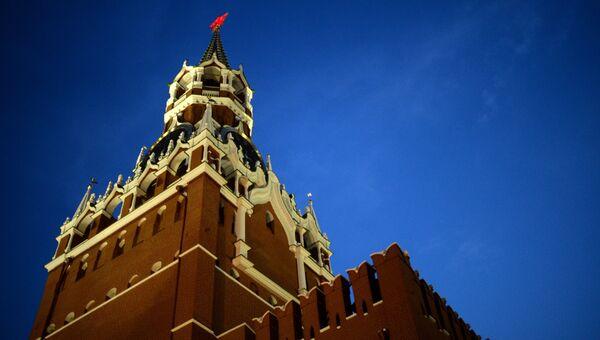 Спасская башня Московского Кремля. Архивное фото