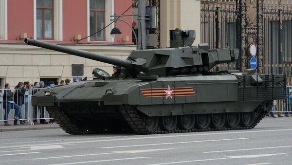 Репетиция военного парада в Москве в ознаменование 70-летия Победы в Великой Отечественной войне 1941-1945 годов. Архивное фото