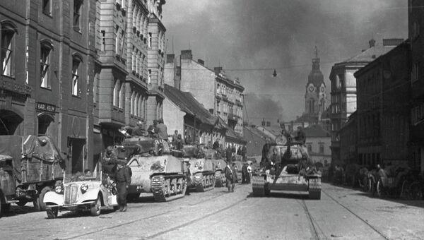 Вступление Красной Армии в Брно