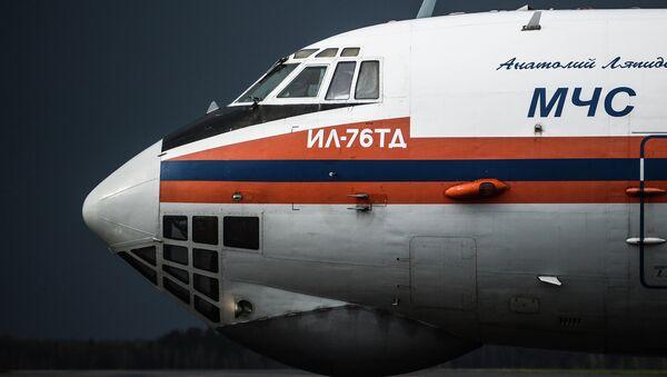 Самолеты МЧС РФ. Архивное фото