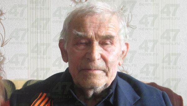 77-летний узник концлагеря Анатолий Федотов, которого школьники закидали камнями в Ленинградской области. Архивное фото