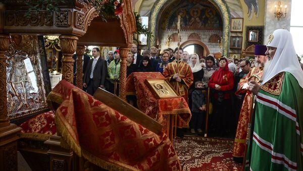 Патриаршее служение в день памяти великомученика Георгия Победоносца