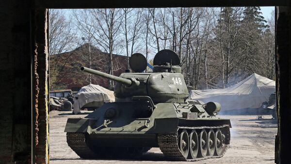 Танк Т-34. Архивное фото
