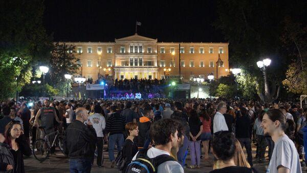 Наркофестиваль в Афинах