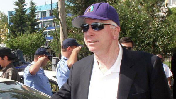 Визит сенатора США Дж.Маккейна в Грузию