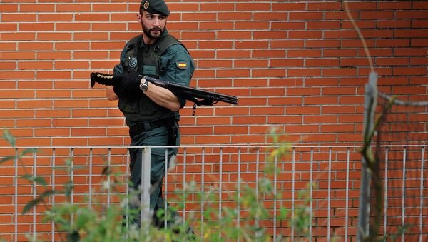 Боец Гражданской гвардии Испании