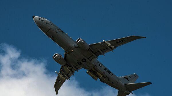 Патрульный противолодочный самолет Boeing P-8A Poseidon