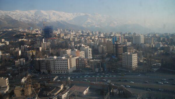 Утренний Тегеран. Архивное фото